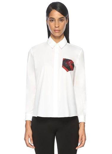 Cep Detaylı Gömlek-Beymen Club